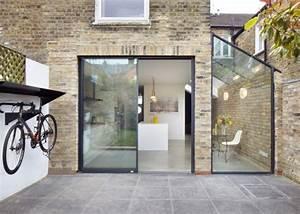 extension maison moderne 45 modeles a travers le monde With nice plan de maison facade 11 maison de ville avec patio