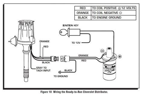msd ready to run blaster coil powermaster starter wiring
