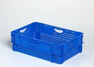 Bac Plastique Ajouré : bac plastique gerbable emboitable ajoure 600x400x190 ~ Edinachiropracticcenter.com Idées de Décoration