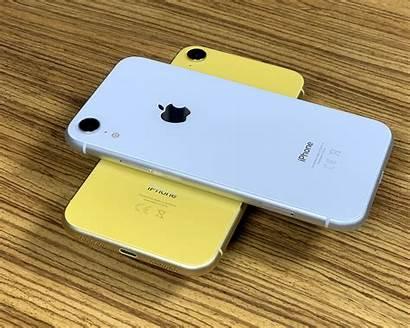 Xr Iphone Geel Wit Een Indruk Heerlijke