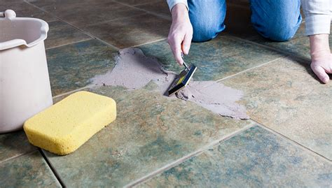 grout sealing   installing  tile