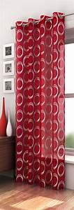 Rideau Gris Et Rouge : rideau rouge noir blanc ~ Teatrodelosmanantiales.com Idées de Décoration