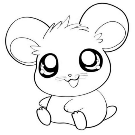 cute kawaii animal coloring pages just colorings