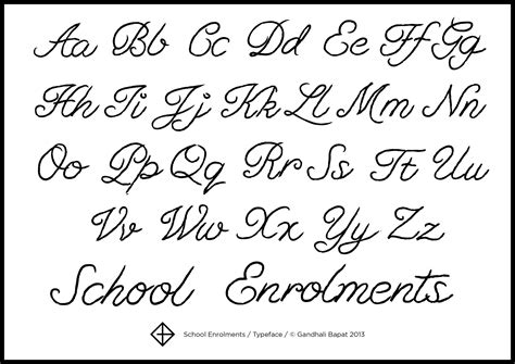 fancy cursive letters levelings