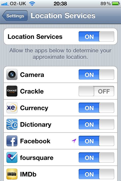 how to disable location on iphone daily tip how to turn locations services for iphone