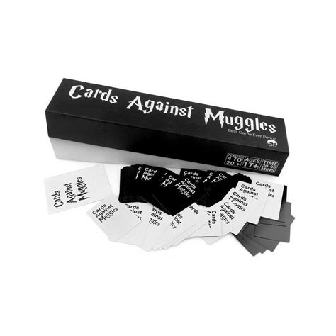 Give your favorite card game a magical twist by sitting down for a rousing game of cards against harry potter. The Online Buy Cards Against Muggles | Harry Potter Themed Card Game