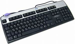 Accessories    Hp 434820-167 105-key Ps2 Keyboard