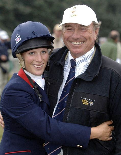Zara's showjumper father spills the beans on his famous ...