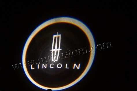 Puddle Lights by Lincoln Led Door Projector Courtesy Puddle Logo Lights