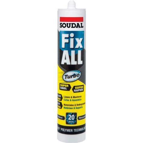 soudal fix all fix all turbo soudal