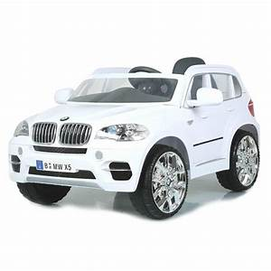 Voiture 1 8 : bmw x5 4x4 voiture lectrique pour b b blanche achat vente voiture enfant cdiscount ~ Voncanada.com Idées de Décoration
