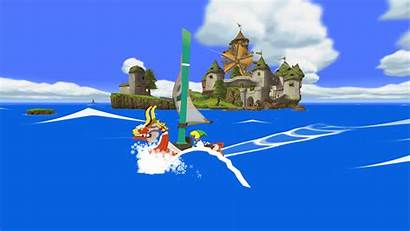 Waker Wind Zelda Legend Island Windfall Wallpapers