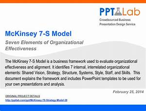 mckinsey 7 s strategy model powerpoint With strategy document template mckinsey