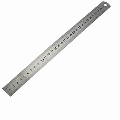 Ruler Steel Stainless 30cm Tools Consumables Accessories