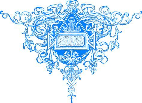 Fancy Flourish Blue Clip Art At Clker.com