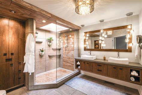 mother nature inspires master bath kitchen bath design