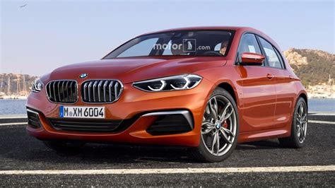 2019 Bmw 1 Series by 2019 Bmw 1 Series Render Sees Into The Hatch S Fwd Future
