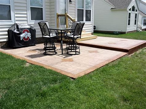 photo gallery concrete patios columbus oh the