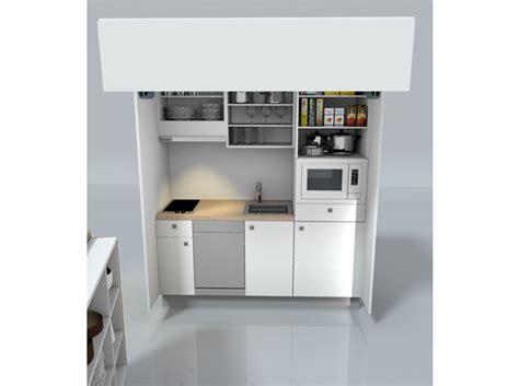 cuisine dans un placard drôles de concepts pour petites cuisines décoration