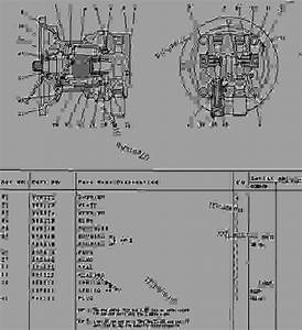 Swing Motor - Excavator Caterpillar E120b