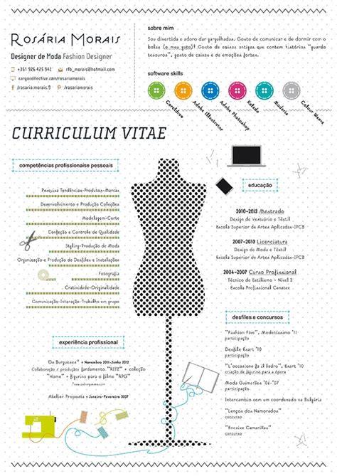 Creative Fashion Resume by Cv Icons Search Original Resumes