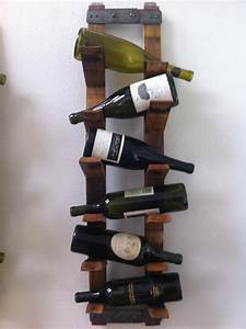Wall Mount Wine Rack by FALLENOAKDESIGNS on Etsy