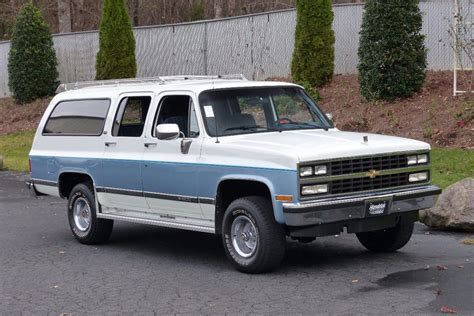 chevy suburban 1990 used chevrolet suburban v1500 at hendrick performance