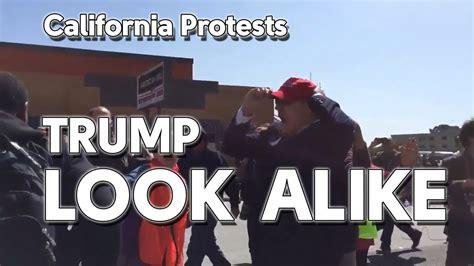 trump alike donald california