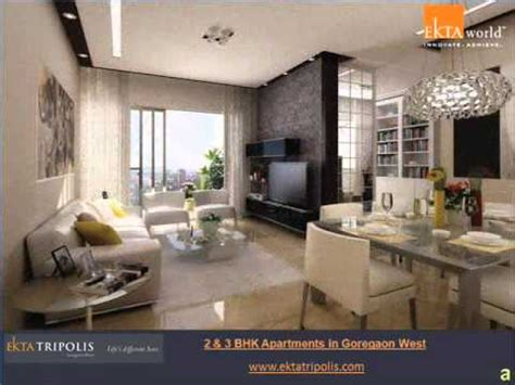 bhk  bhk flats  goregaon west mumbai youtube