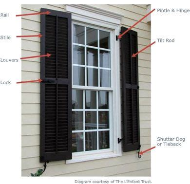 b d shutters exterior window shutters window shutters on historic