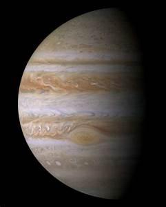JPL News -- Cassini Captures Jupiter in Close-Up Portrait