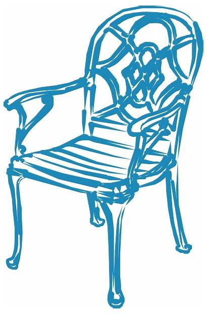 Clipart Chairs Garden Chair Clip Rocking Vector