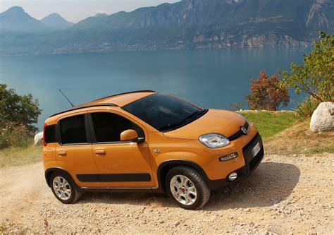 Fiat Panda Trekking Still View Car Pictures Images