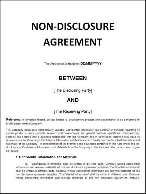 nda  disclosure agreement fiverr