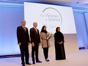 Masdar Institute PhD Student Wins L'Oreal-UNESCO for Women ...
