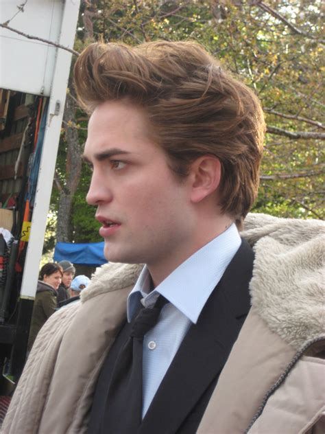 robert pattinson twilight set twilight series photo