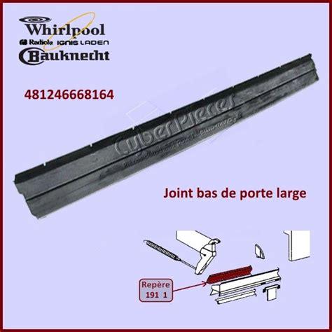 joint bas de porte whirlpool 481246668164 pour joints bas et tour de portes lave vaisselle