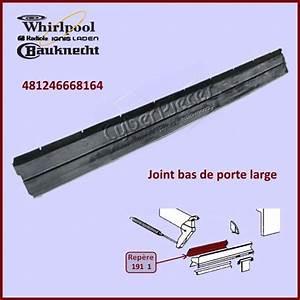 Joint Pour Porte : joint bas de porte whirlpool 481246668164 pour joints bas ~ Nature-et-papiers.com Idées de Décoration
