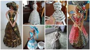 Amazing craft ideas for selling made from Newspaper