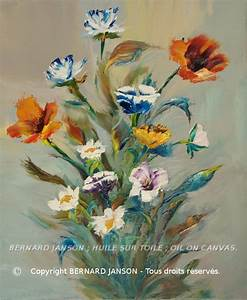 Peindre Au Pastel : oeuvre de peinture huile au couteau bouquet de fleurs des champs pastels peinture tableau ~ Melissatoandfro.com Idées de Décoration