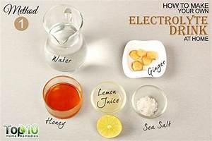 How To Make Your Own Electrolyte Energy Drink At Home