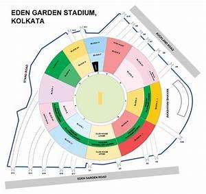Eden Gardens Stadium Kolkata: Seating Arrangement / Chart ...
