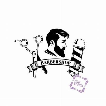 Sticker Barber Clip Shave Classic Svg Barbershop