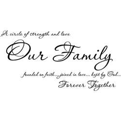 a circle of strength and family quotes