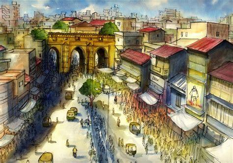 vj: Theen Darwaja old city Ahmedabad