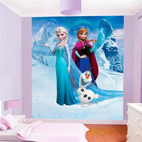 reine des neiges chambre déco chambre reine des neiges
