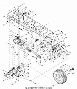 Troy Bilt 14az809k063 Gtx2654  2003  Parts Diagram For