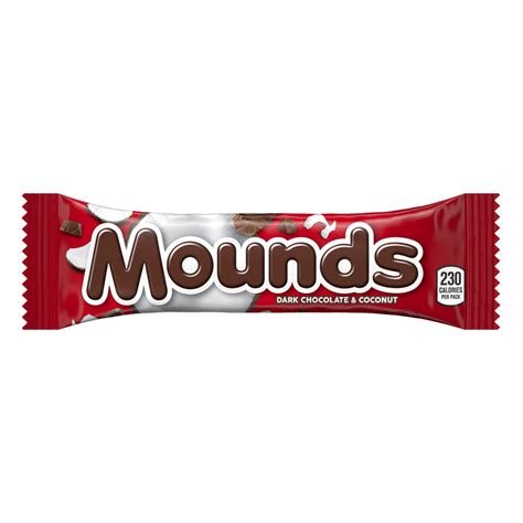 mounds candy bars product nutrition