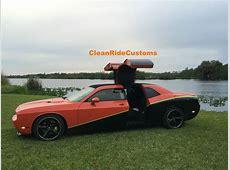 FourDoor Dodge Challenger SRT8 Has Rear Gullwing Doors