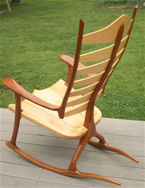 wooden rocking chairs reach the peak of perfection when